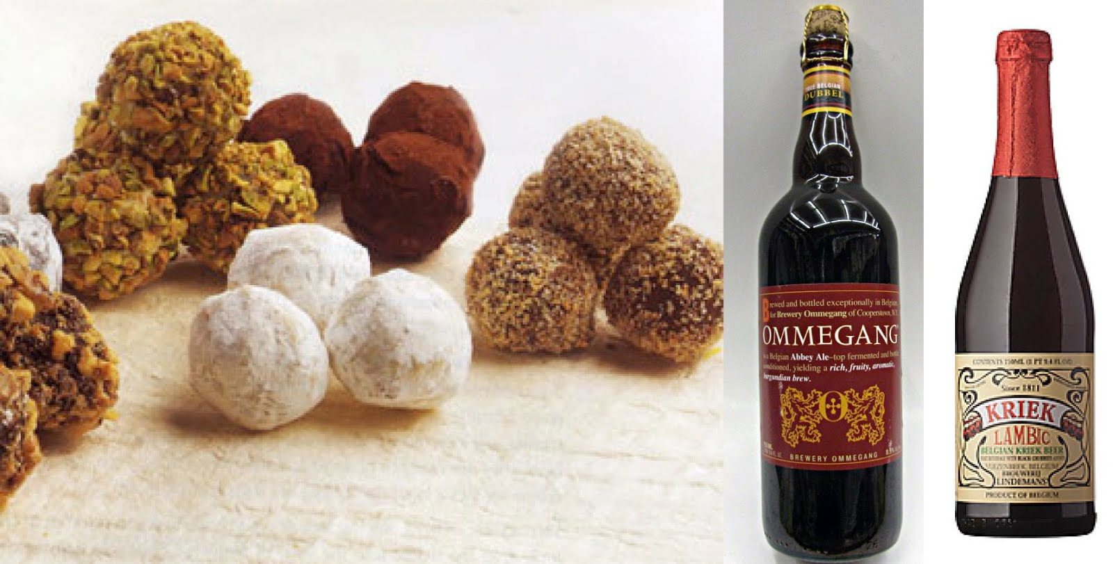 Chocolate and Beer Pairing Lambics and Belgian Dubbel Abbey Ales