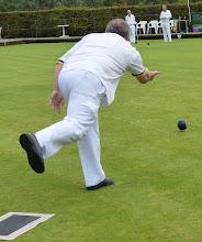 Photo: Jon Broomfield in action.