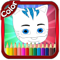 Coloring Book for Masks Heroes icon