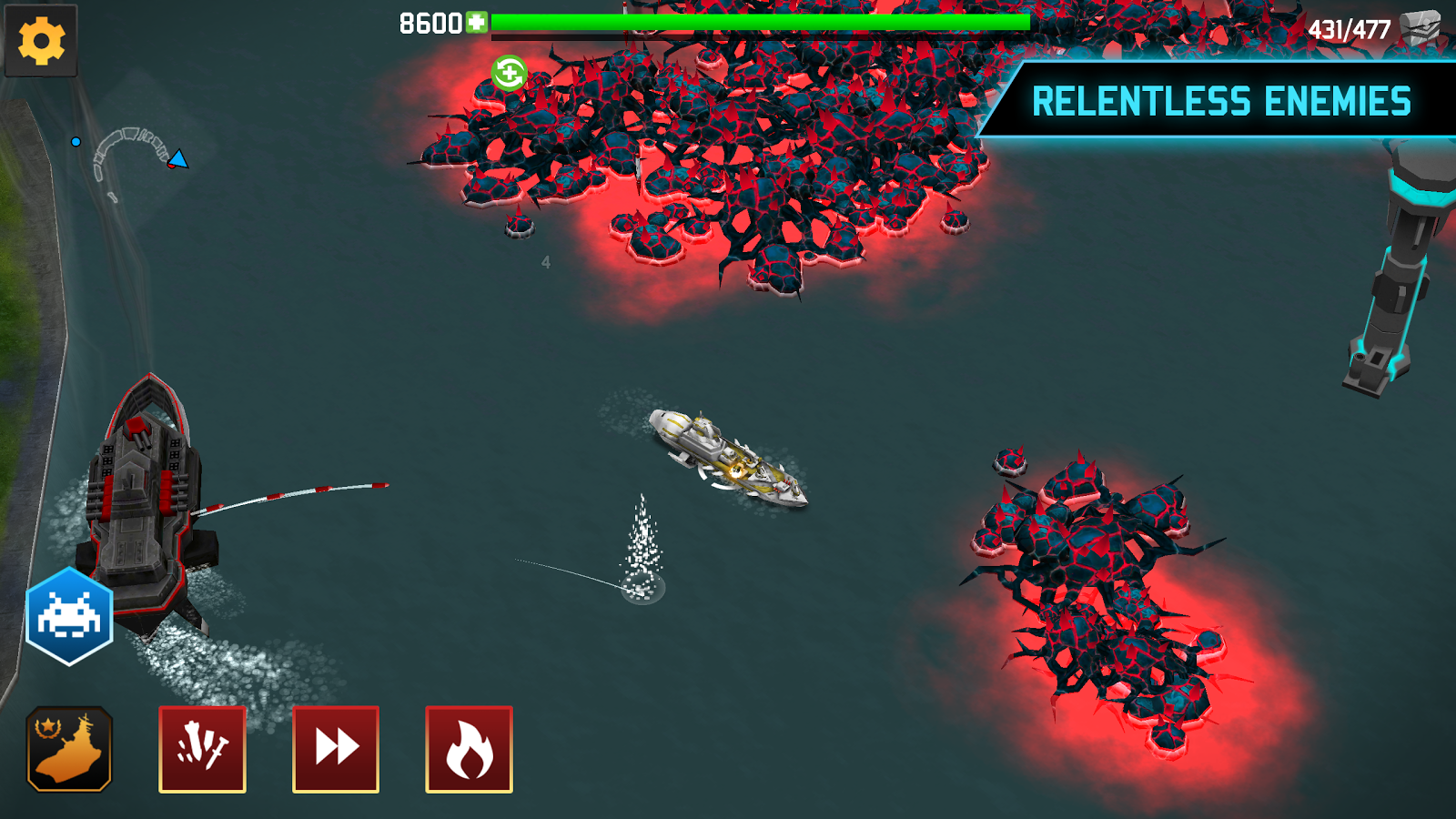 Fortress: Destroyer- screenshot