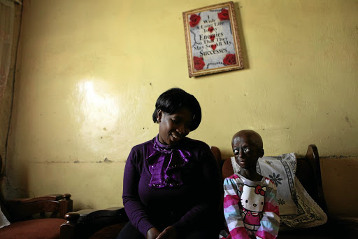 Bellah Phalatse with her daughter Ontlametse, who is being remembered in a school renaming and a documentary.