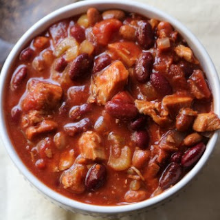 Crock Pot Turkey Chili.