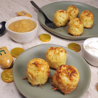 Air Fryer Potato Latkes Bites.