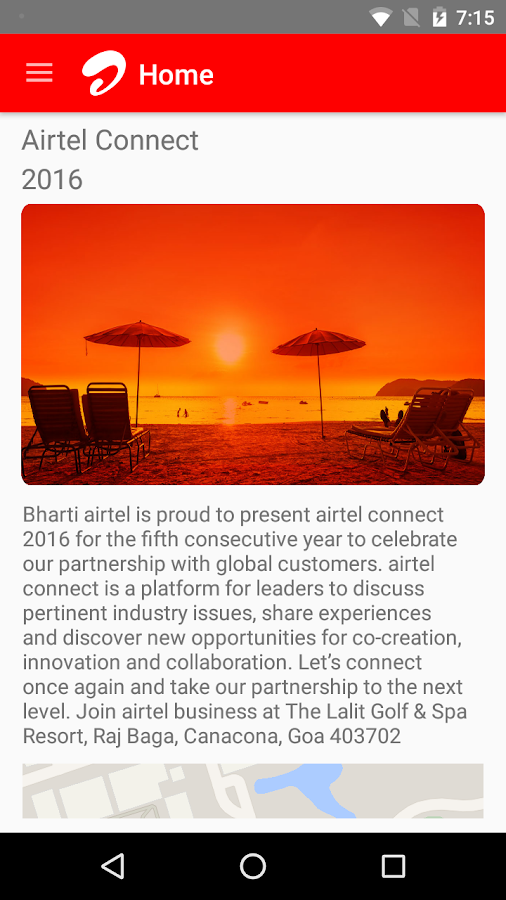 airtel connect 2016- screenshot