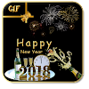 New year GIF 2018