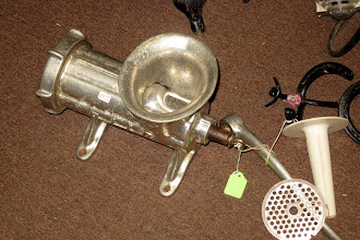 Photo: Meat Grinder - one at every shop and rummage sale. WHY?