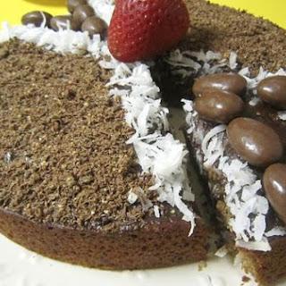 Choco-Coco-Banana Cake.