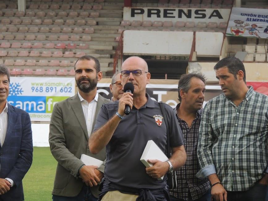 Miguel Palanca, presidente del URA.