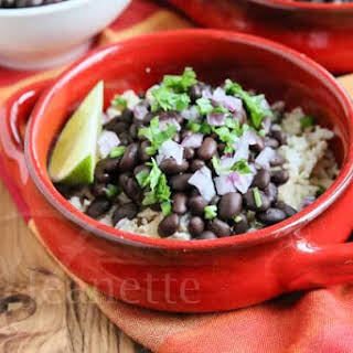 Slow Chipotle Style Black Beans.