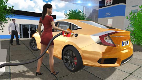 Car Simulator Civic: City Driving Mod Apk (No Ads) 3