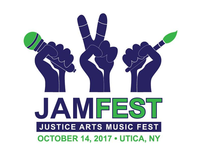 JAM Fest: Justice, Arts, Music Fest. October 14, 2017. Utica, NY