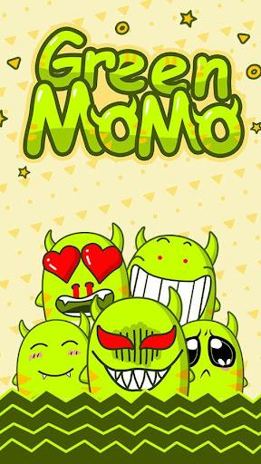 GO Keyboard Sticker Green MoMo