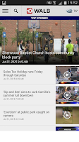 Screenshot of WALB News 10