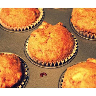 Banana Wheat Muffins.
