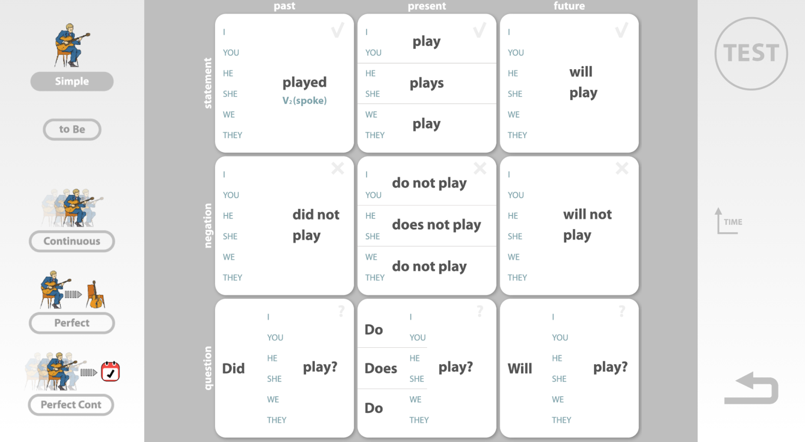 Learn to speak English grammar and practice- screenshot