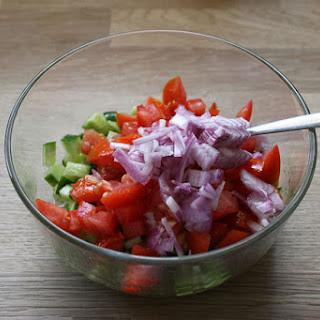 Arabic-Israeli salad.