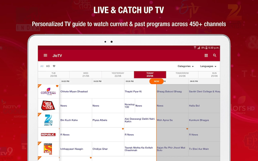 JioTV Live Sports Movies for PC