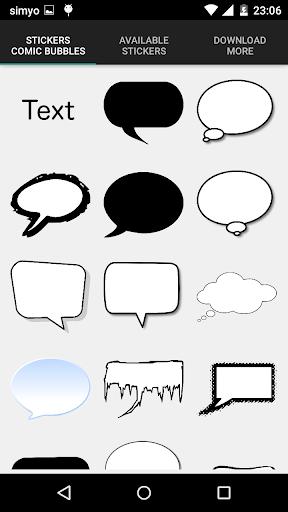無料摄影Appのスピーチバルーン漫画クリエーター|記事Game