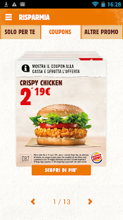 Burger King Italia- screenshot thumbnail