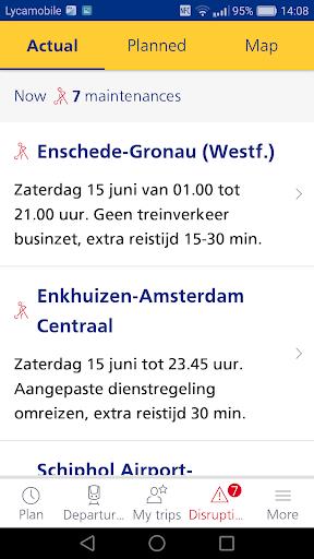 Reisplanner Xtra screenshot 3