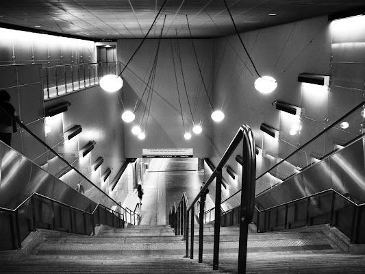 Genova: la metro di Elisabetta Castellano