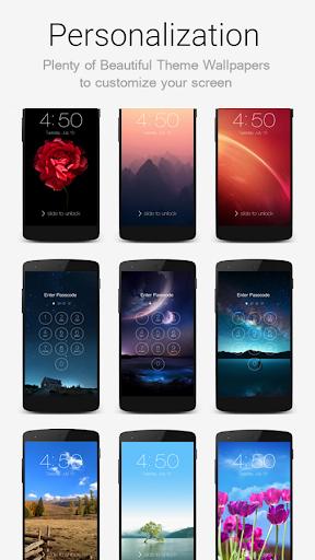 Keypad Lock Screen Screenshot