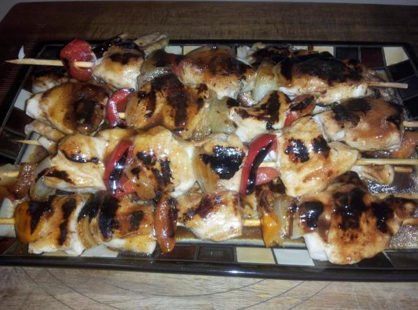 Brine Chicken Kabobs Recipe