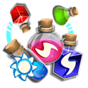 Magic Blender - Magic Potions - Match 3 icon