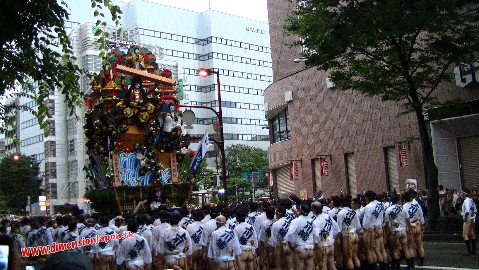 Festival Yamakasa 2010 (Fukuoka) 15-07-2010
