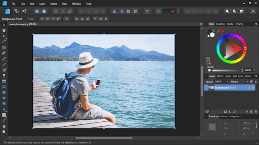 How To Resize Images with Affinity Designer