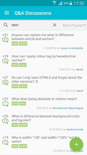 Learn HTML 5.5.2 screenshots 6