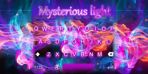 EmojiKeyboard-Mysterious light