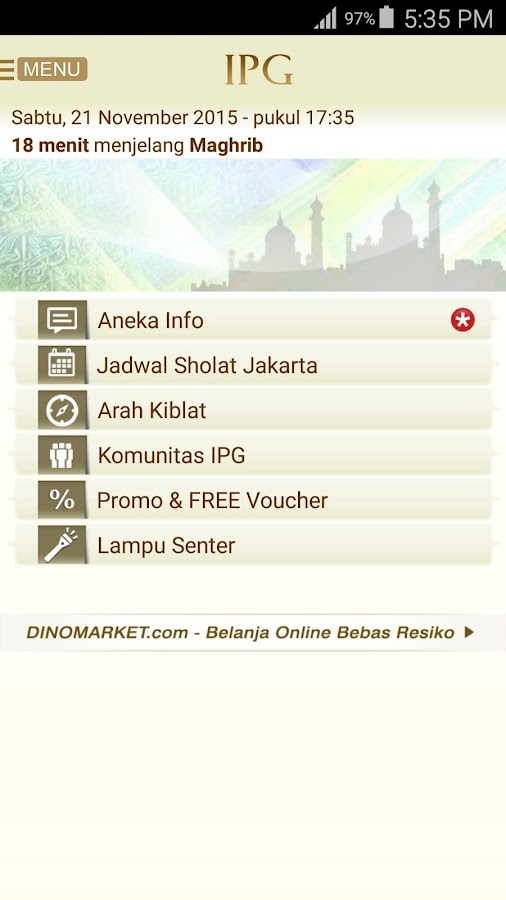 IPG- screenshot