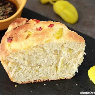 Peperoncini Focaccia Bread.