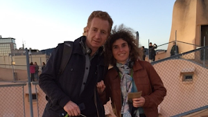 Christophe et Sophie vont courir le semi-marathon 2015 au profit de L'Arche à Paris