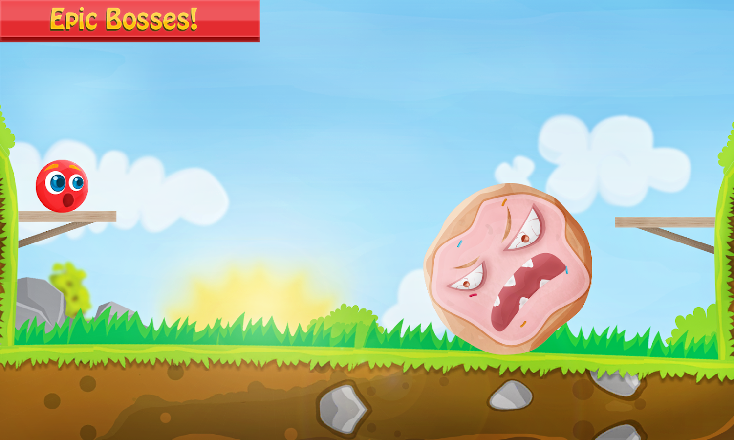 Bounce Tales Adventures : Red Ball 2018- screenshot