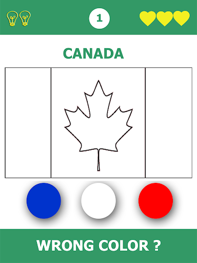 Flags Quiz Gallery : Quiz flags name and color apkpoly screenshots 3