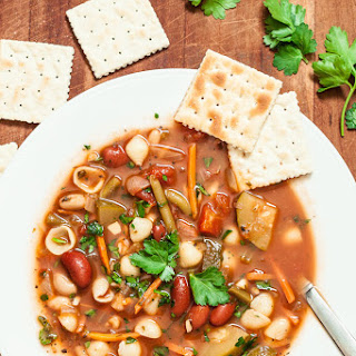The Best Minestrone Soup.