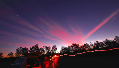 Photo: Red Trails
