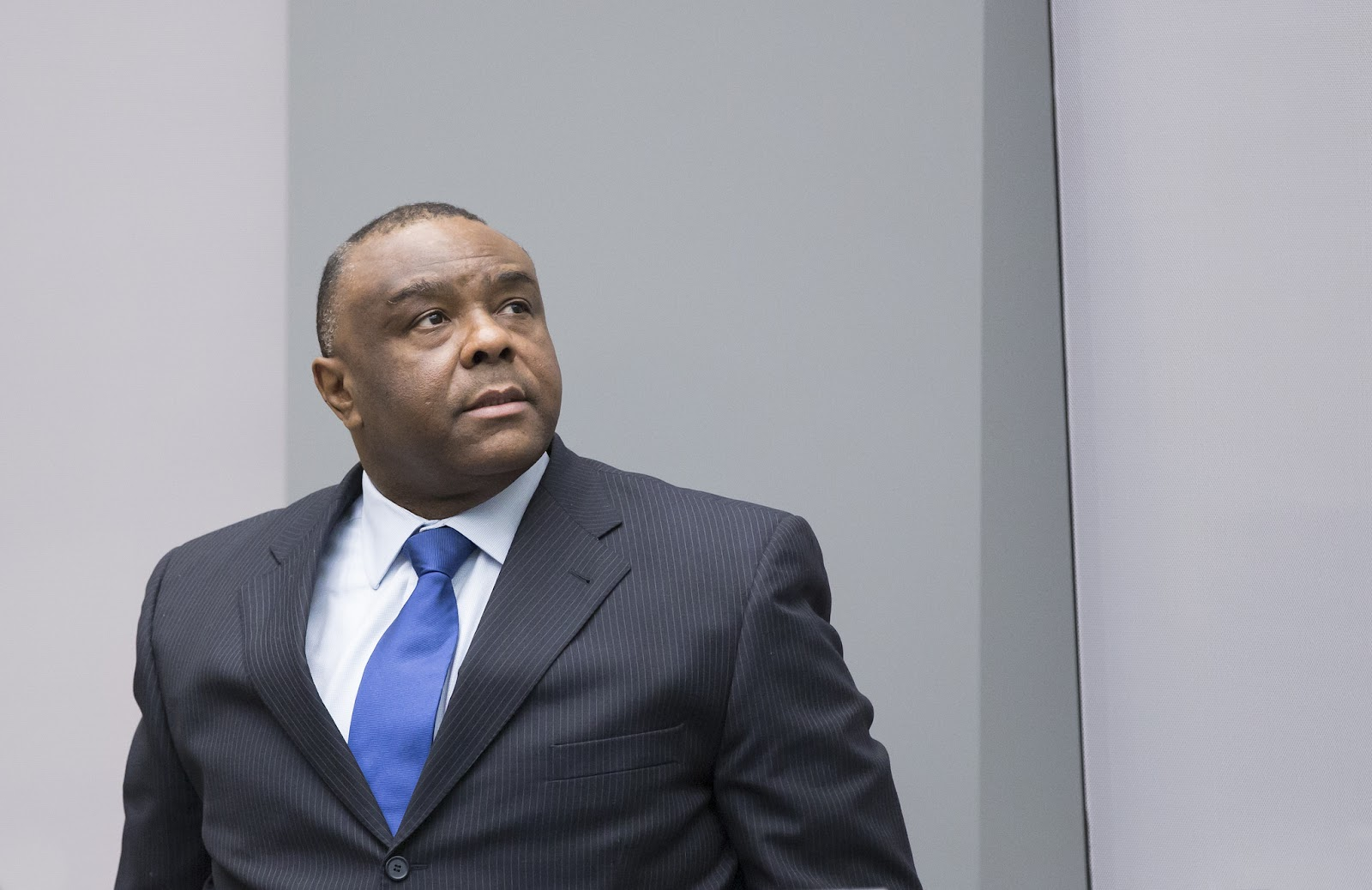 Jean-Pierre Bemba at his sentencing hearing. Credit: ICC-CPI.
