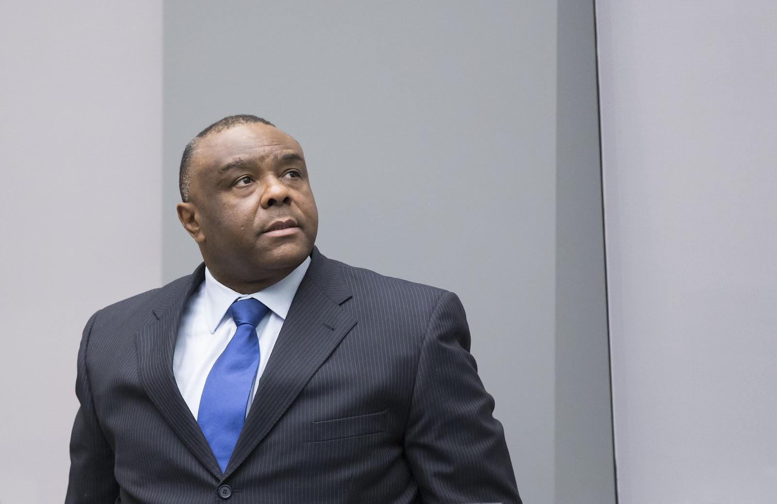 Jean-Pierre Bemba at his sentencing hearing. Credit: ICC-CPI.