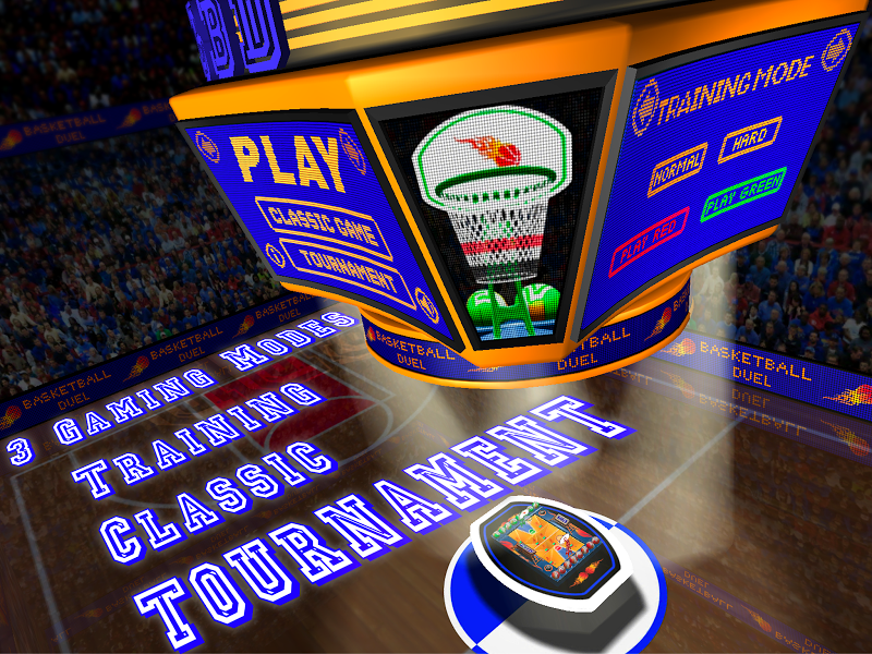 Скриншот Basketball Duel Lite