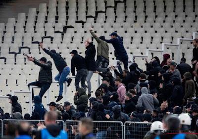 Ajax-fans laten zich van hun slechtste kant zien
