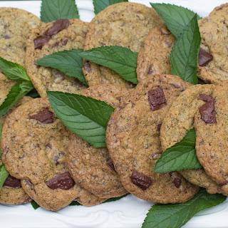 Fresh Mint Chocolate Chunk Cookies Recipe