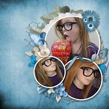 Photo: Chewing pleasure by Liascrap & Scrapofangel - RAK photo by Caroline