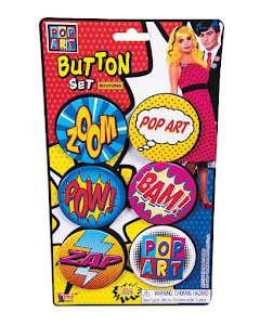 Pop Art, pins