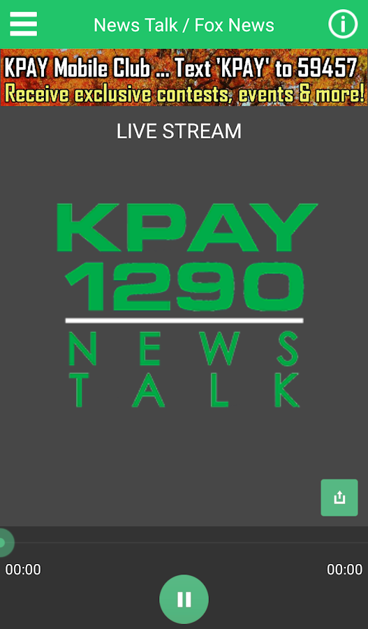 News-Talk 1290 KPAY- screenshot