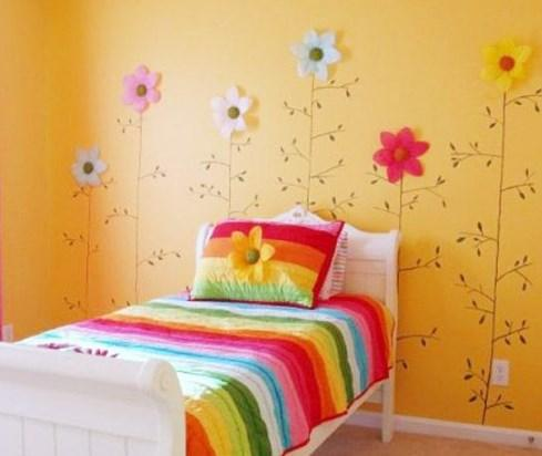 Hiasan Dinding Bilik Tidur Anak Desainrumahid