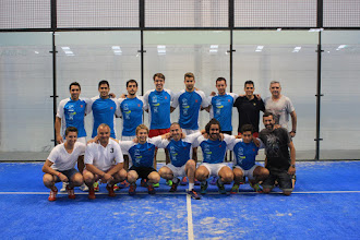 Photo: #CtoEsp3 Equipo Indoor Granollers #pádel