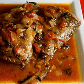 Poisson Creole or Creole Fish.
